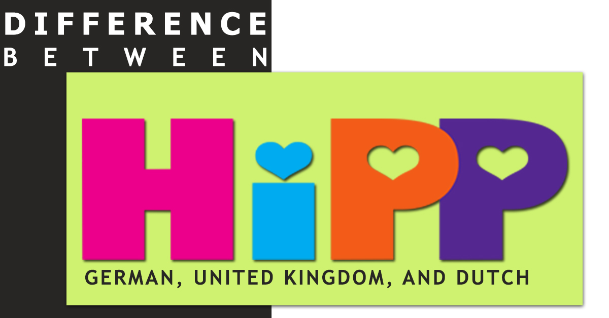What's the Difference between HiPP German, United Kingdom, and Dutch