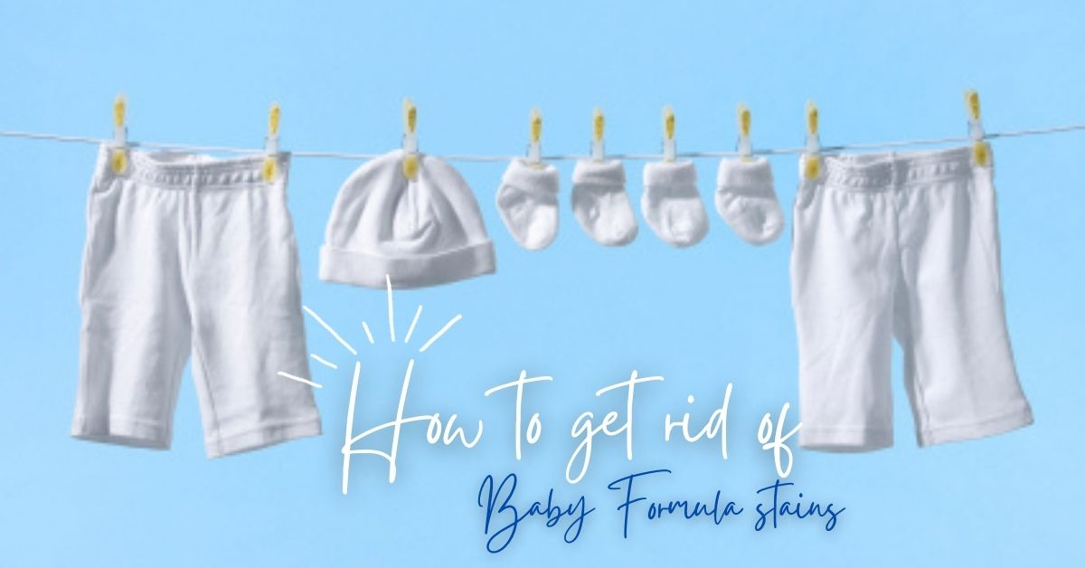 How to get rid of Baby Formula stains